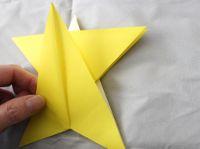 dobradura de estrela passo a passo