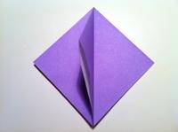 dobradura flor de iris desenho