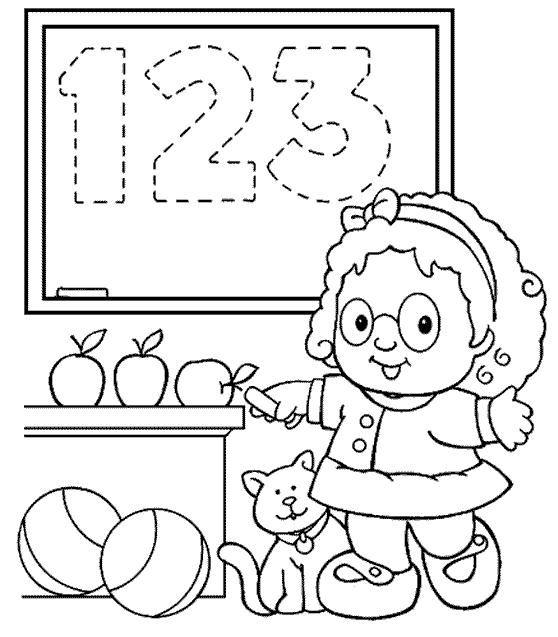 matematica colorir numeros