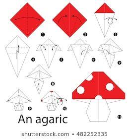 origami cogumelo