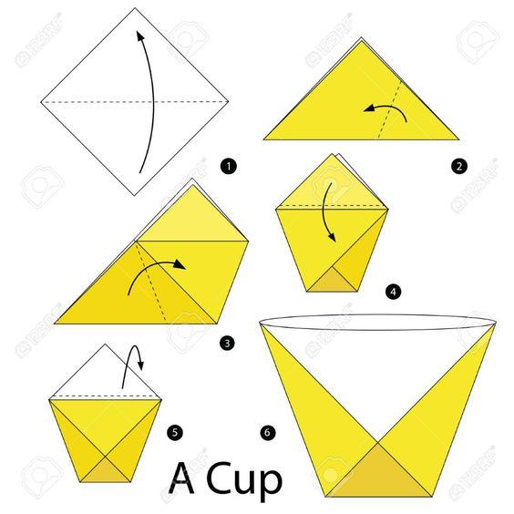origami copo