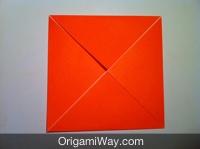 origami de caixa aprender