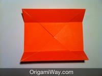 origami de caixa crianças