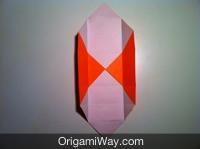 origami de caixa desenho