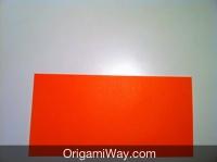 origami de caixa dobradura