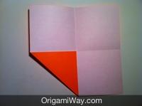 origami de caixa fácil