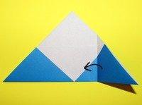 dobradura de carta