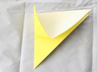 origami de estrela infantil