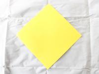 origami de estrela papel