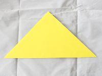 origami de estrela simples