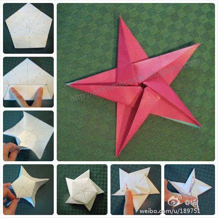 origami estrela conjunta