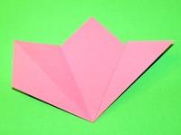 origami flor alunos