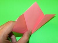 origami flor crianças