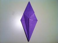 origami flor de iris 1