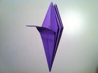 origami flor de iris 3