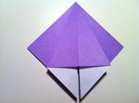origami flor de iris tutorial