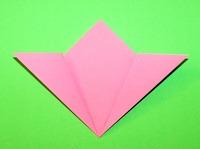 origami flor guia