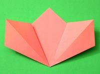 origami flor infantil