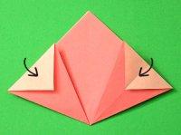 origami flor pétalas