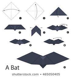 origami morcego