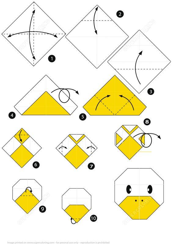 origami pato