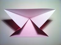 origami tulipa crianças