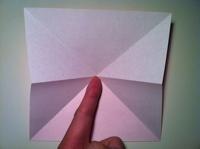 origami tulipa fácil