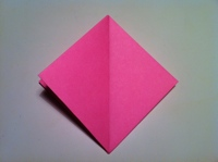 origami tulipa fazendo