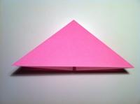 origami tulipa infantil