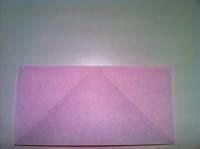 origami tulipa quadrado