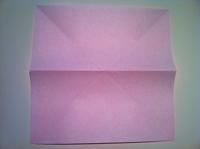 origami tulipa simples